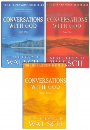 Neale Donald Walsch Conversations with God Trilogy 3 Books Collection Set (Book 1, Book 2, Book 3) Photo