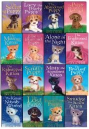 Holly Webb 16 Books Collection Set Puppy and Kitte Photo