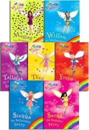 Rainbow Magic Series 6 Fun Day Fairies Collection 7 Books Pack Set (36 to 42) by Daisy Meadows