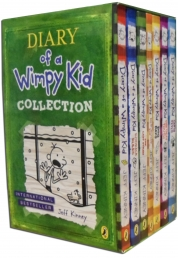 Diary of a Wimpy Kid Collection 7 Books Set cabin fever, Ugly Truth, Last Straw by Jeff Kinney