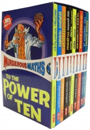 Murderous Maths Collection 10 Books Box Set Photo