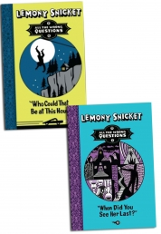 Lemony Snicket All Wrong Question Series Collection 2 Books Set by Lemony Snicket
