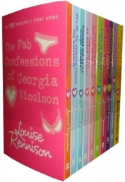 Louise Rennison Collection 10 Books Set Georgia Nicolson Set Pack by Louise Rennison