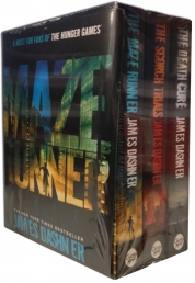 Maze Runner Collection - Maze Runner Box Set Books - James Dashner - Maze runner, The scorch Trials and The Death Cure Book.