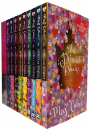 The Princess Diaries Collection Meg Cabot 10 Books Set by Meg Cabot