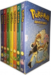 Pokemon Adventures Red and Blue Box Set Volumes 1-7 by H Kusaka