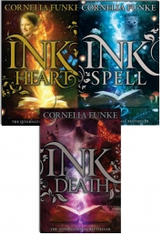 Inkheart Trilogy 3 Book Collection Set Series Pack Photo