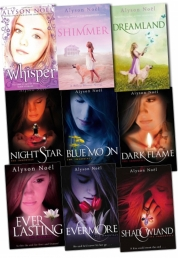 The Immortals Riley Bloom Series 9 Books Collection Set Alyson Noel Whisper by Alyson Noel