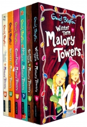 Enid Blyton Books Malory Towers Collection 6 Books Set (Books 7-12 Books) by Enid Blyton