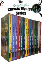 Enid Blyton Classic Mystery Stories 15 Books Set Photo