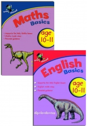 Leap ahead Maths and English Basics ages 10-11, 2 Books Set Collection by Paul Broadbent, Peter Patilla and Louis Fidge