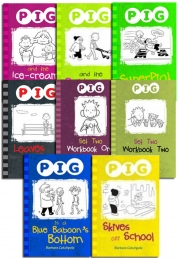 Pig Series 2 School Books Key Stage 2 8 Books Collection Set 2014 Curriculum NEW by Barbara Catchpole