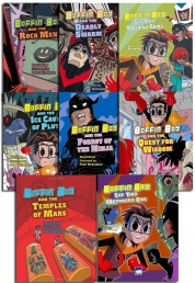 Boffin Boy Series 2 Children's Books Collection 8 Books Set Popular Manga Series by David Orme