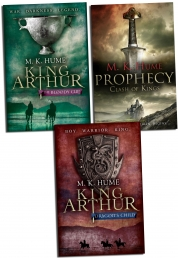 M K Hume King Arthur Series Collection 3 Book Set Photo