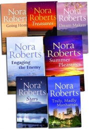 Nora Roberts Collection 7 Books Set - Mills & Boon, Truly,Madly Manhattan, Treasures, Going Home, Stars, Summer Pleasures, Engaging the Enemy and Dre) by Nora Roberts