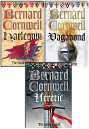 Bernard Cornwell Grail Quest 3 Books Collection Set Photo