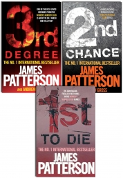 James Patterson Women's Murder Club Series Collection 3 Books Set Pack (1st To Die, 2nd Chance and 3rd Degree) by James Patterson