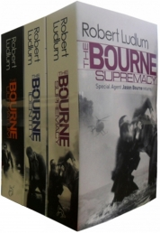 Robert Ludlum The Bourne Trilogy 3 Books Set Pack ( The Bourne Identity, The Bourne Supremacy, The Bourne Ultimatum) (Robert Ludlum Collection) by Robert Ludlum