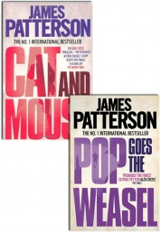James Patterson 2 Books Collection Set (Pop goes the weasel, Cat and mouse) by James Patterson