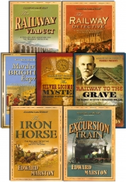 Railway Detective Series Collection Edward Marston 7 Books Set (Silver Locomotive Mystery, Murder on the Brighton Express, Railway Detective, etc.) by Edward Marston
