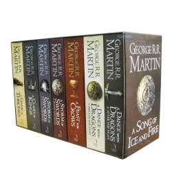 A Game of Thrones Box Set George R.R Martin Photo