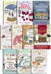 Agatha Raisin Collection 10 Books Set Pack Photo