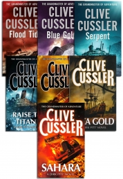 Clive Cussler Dirk Pitt Series Collection 7 Books Set Mayday, Inca gold, Sahara by Clive Cussler