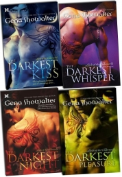 Gena Showalter Lords of the Underworld 4 Books Collection Pack Set Darkest New by Gena Showalter