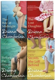 Diane Chamberlain Collection 4 Books Set (The Lost Daughter, Before the Storm, Secrets She Left Behind, The Bay at Midnight) by Diane Chamberlain