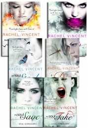 Rachel Vincent Collection Soul Screamers 6 Books Set Pack Before I Wake by Rachel Vincent
