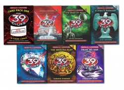 The 39 Clues 6 Books Collection Set & 36 digital c Photo