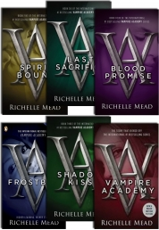 Vampire Academy Series By Richelle Mead (6 Books Collection Set) Photo