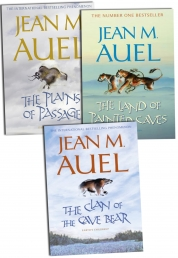 Jean M Auel 3 Books Earths Children Collection Pack Set by Jean M Auel