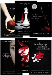 Stephenie Meyer TWILIGHT SAGA COLLECTION 6 BOOKS S Photo