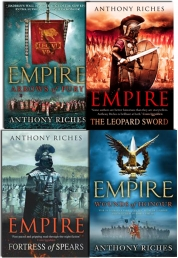 Anthony Riches Empire Series Collection 4 Books Se Photo