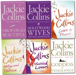 Jackie Collins Collection 6 Books Set Photo