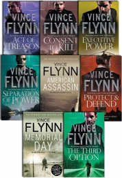Vince Flynn Collection 8 Books Set Act of Treason Photo
