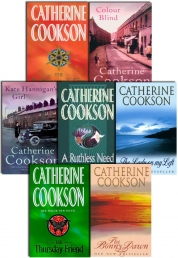 Catherine Cookson 7 Books Collection Set (Ruthless Need, Lady On My Left, Colour Blind, Thursday Friend, Bonny Dawn, Solace Of Sin, Kate Hannigan's Gi by Catherine Cookson