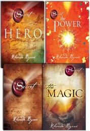 Rhonda Byrne The Secret Series Collection 4 Books Set Hero, Power, Magic, Secret by Rhonda Byrne