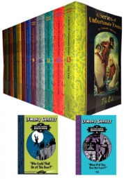 Lemony Snicket 15 Books Collection (Unfortunate Event & All The Wrong Question ) by Lemony Snicket