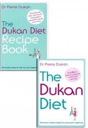 The Dukan Diet Recipe Book Pierre Dukan Collection Set New Lose Weight Photo