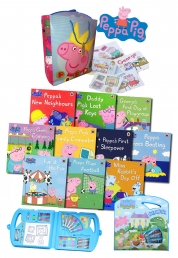 Peppa Pig Christmas Gift Collection 10 Books Set P Photo