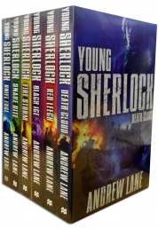Young Sherlock Holmes 6 Books Collection Set by Andrew Lane Photo