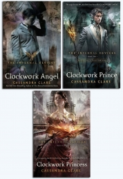 The Infernal Devices Series Collection 3 Books Set by Cassandra Clare
