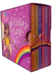 Rainbow Magic Holiday Fun Little Pocket Library 6 Photo