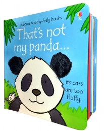 Thats Not My Panda Touchy-Feely Board Books by Fiona Watt, Rachel Wells