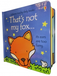 Thats Not My Fox Touchy-Feely Board Books by Fiona Watt, Rachel Wells
