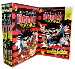 Diary of Dennis the Menace 5 Books Collection Set Pack by Steven Butler
