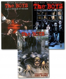 The Boys Series Collection 3 Books Set (V.1-3) Photo