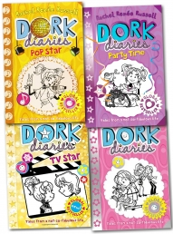 Dork Diaries Series Collection Rachel Renee Russel Photo